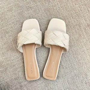 Woven Slide Sandal